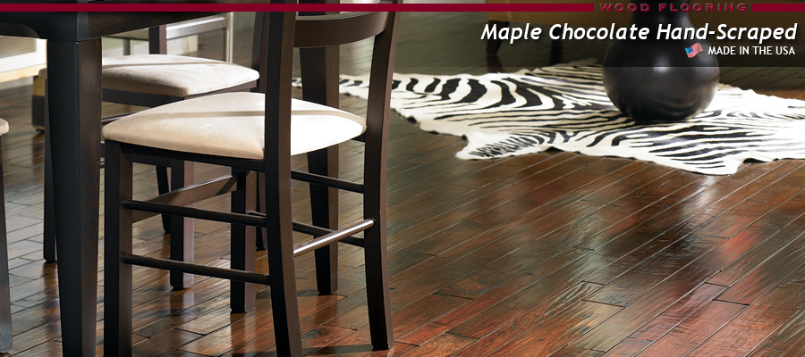 Millstead Vintage Maple Natural Millstead Maple Chocolate Hand-Scraped ... - Millstead Wood Floors